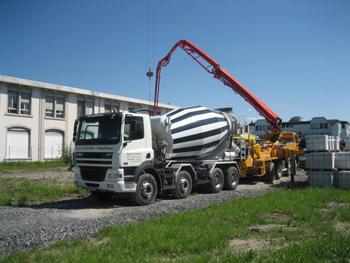 доставка бетонных смесей до объекта